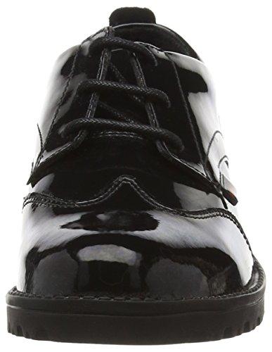 KickersLachly Lace - Zapatos Planos con Cordone Negro