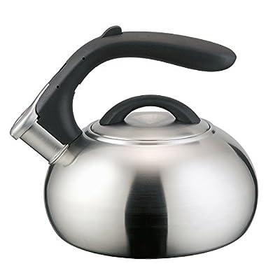 2qt 18/8 Stainless Steel Whistling Teakettle