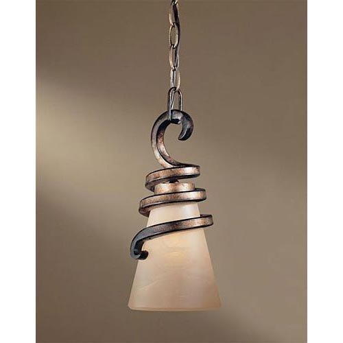 Minka Lavery Pendant Ceiling Lighting 1761-211, Tofino Mini Cone, 1 Light, 100 Watts, Bronze For Sale