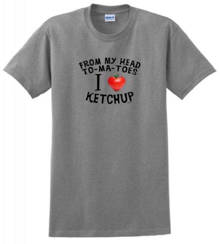 Head Toes Tomatoes Ketchup T Shirt