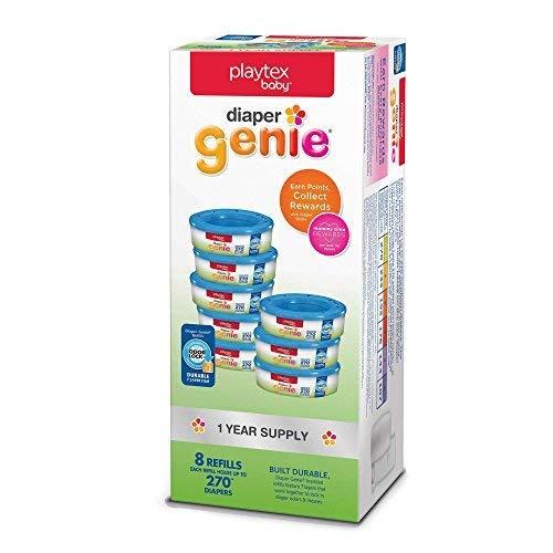 Playtex Baby Diaper Genie Refill (8-Count) by Playtex