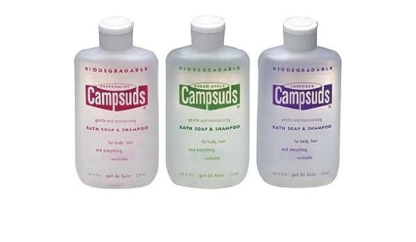 Campsuds Baño Champú y jabón lavanda / 4 oz.: Amazon.es: Belleza