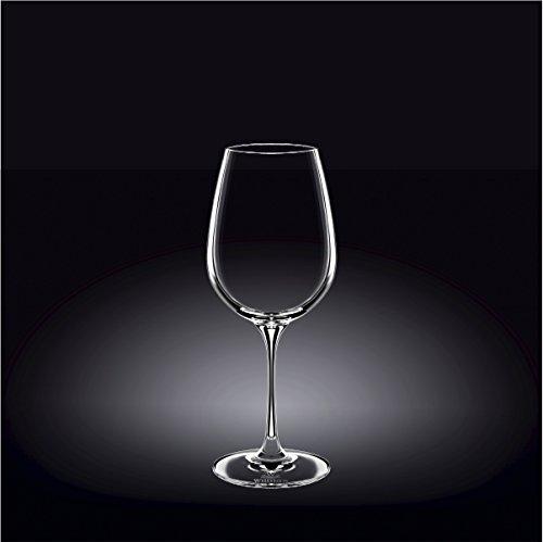 Wilmax 888033 470 ml Wine Glass Set of 244; Pack of 12