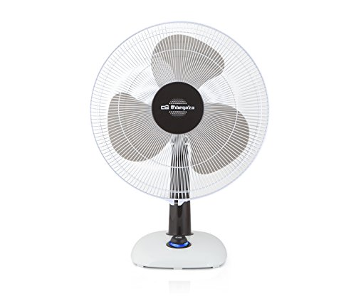 Orbegozo TF 0133-Ventilateur de table 30 cm Blanc/Noir