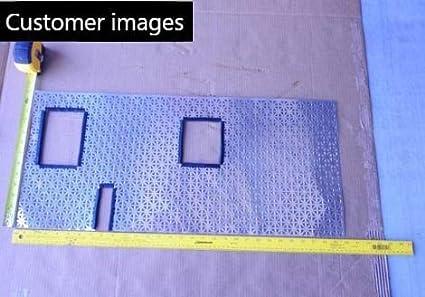 rango de agarre de 0,23 cm 0,94 pulgadas U 0,95 x 0,09 cm Borde ribeteado negro peque/ño en forma de U
