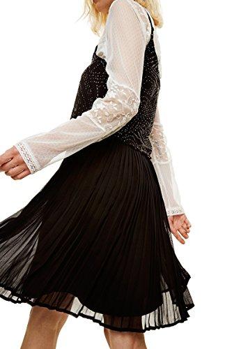 Fiona Desigual 17wwvw50 Desigual Noir Robe Robe tZgtzHq