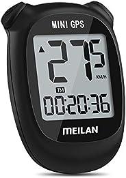 MEILAN M3 Mini GPS Bike Computer, Wireless Bike Odometer and Speedometer Bicycle Computer IPX5 Waterproof Cycl