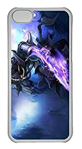 iPhone 5C Case, iPhone 5C Cases - Anti-Scratch Crystal Clear Hard Back Case for iPhone 5C Kassadin League Of Legends 5 Shock-Absorption Hard Back Bumper Case for iPhone 5C