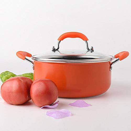 PJY Pot à Soupe Anti-adhésif bébé complémentaire Pot de Cuisson Pot Pot Pot de Cuisson Casserole Casserole 24 cm