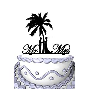 411J6KG4tOL._SS300_ Beach Wedding Cake Toppers & Nautical Cake Toppers
