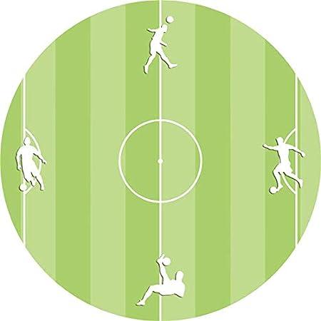 Vintage Fútbol Diseño Reloj De Pared Silencioso Breve Sala ...