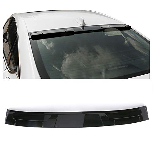(Fits 18-19 Honda Accord Ikon Style Roof Spoiler Gloss Black ABS By IKON MOTORSPORTS )