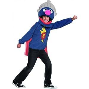 Sesame Street Grover Halloween Costume - Tween Size 10-12