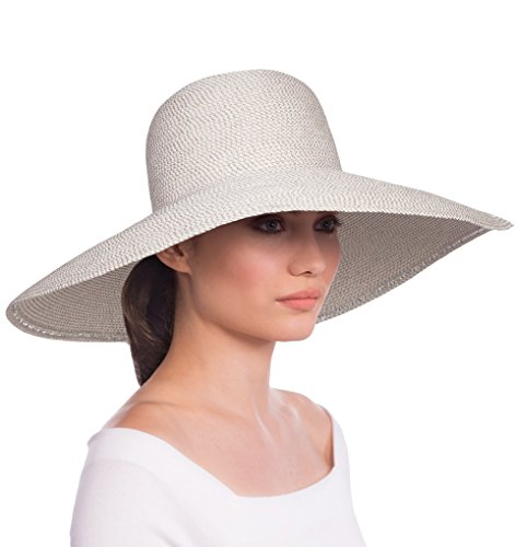 Eric Javits Luxury Fashion Designer Women's Headwear Hat - Floppy - White by Eric Javits
