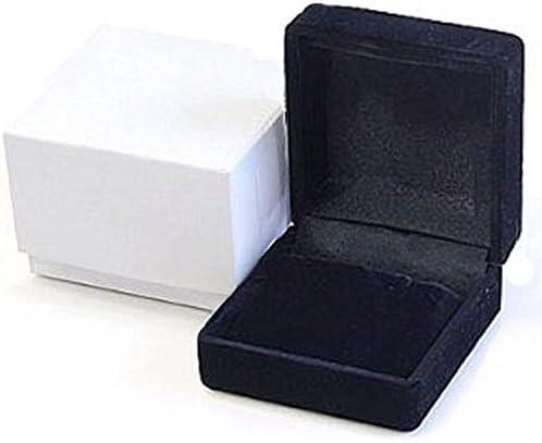 ネックレスケース ピアスケース アクセサリーケース ジュエリーケース box-f61bk ブラック