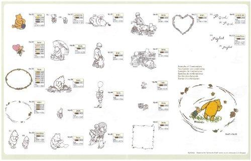 Brother 4977766638340 - Tarjeta de diseño de Bordado Winnie de Pooh para máquina de Coser: Amazon.es: Hogar