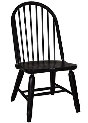 Buy liberty treasures rustic oak bow back dining chair