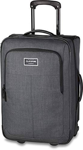 - Dakine Unisex Carry On Roller, Carbon, 42L