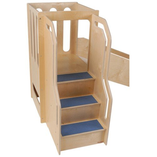 Constructive Playthings CPW-1 Space-Saver Wooden Activity Center for Children 18-35 Months