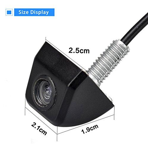LOSKA Waterproof IP68 Night Vision 170 Degree Car Rear view/Reversing/Reverse Camera Universal Color CMOS Imaging Chip Backup Parking HD Front View Camera