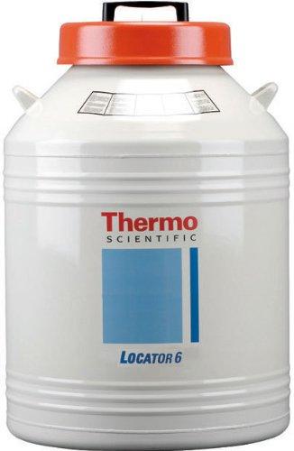 Liquid Nitrogen Monitor - Thermo Scientific CY50985 Locator 6 Plus Liquid Nitrogen Storage Vessel without Level Monitor, 26