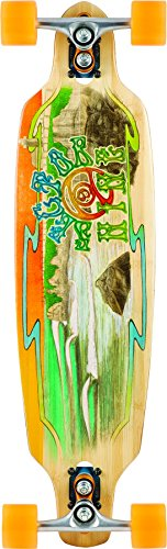 Sector 9 Shoots Drop Through Top Mount Complete Skateboard, Assorted