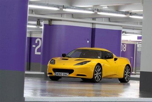 Lotus Evora S Yellow Left Front Hd Poster Super Car Print