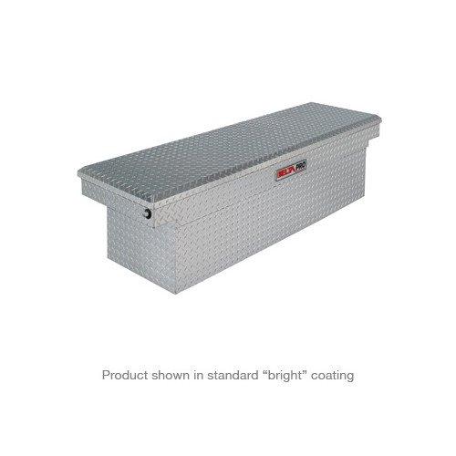 JOBOX PAC1585002 Black Aluminum Single Lid Fullsize Super Deep Crossover Truck Box