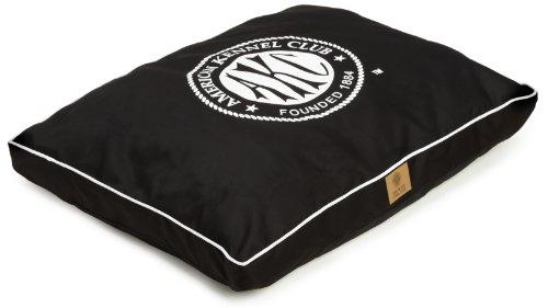 American Kennel Club Logo Gusset Pet Bed, Black