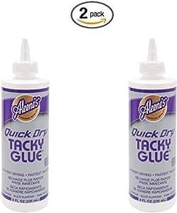Aleene's Quick Dry Tacky Glue 8oz (2 pack)