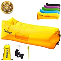 GADUGE Giant Inflatable Lounger Chair Hangout Sofa in 8...