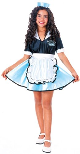 Car Hop Girl Costume - 50's Costumes (5-7 years) -