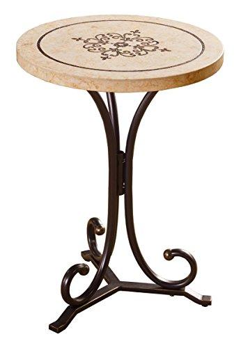 - Hillsdale Furniture Belladora Round End Table