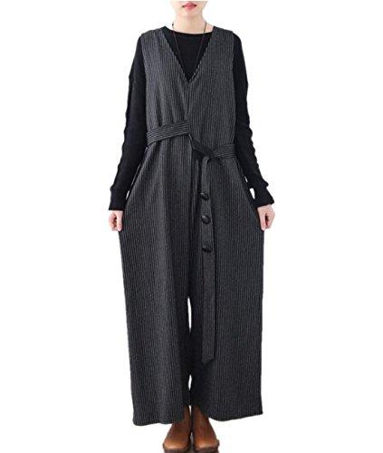 Wide Leg Wool Pant Suit - 2