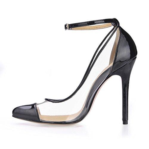 Klicken Klicken Klicken Sie auf Frauen fallen neue Produkte am Point-of-T Frauen Schuhe große transparente Glas kleben Sie die die high-heel Schuhe b5ec4c