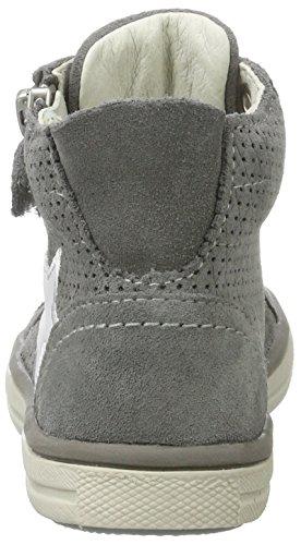 Lurchi Saskia, Zapatillas Altas para Niñas Grau (Grey White)