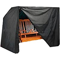 Mitef Waterproof and Dustproof Garden Swing Cover, Outdoor Furniture Protective Cover, Available in Two Sizes and Three Colors