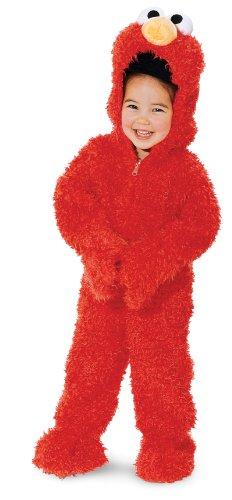 Elmo Deluxe Plush - Size: