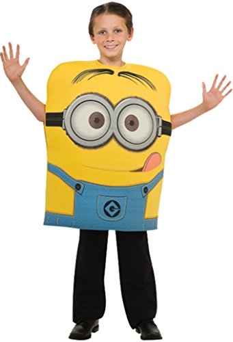 Boys Despicable Me 2 Dave Kids Child Fancy Dress Party Halloween Costume, S -