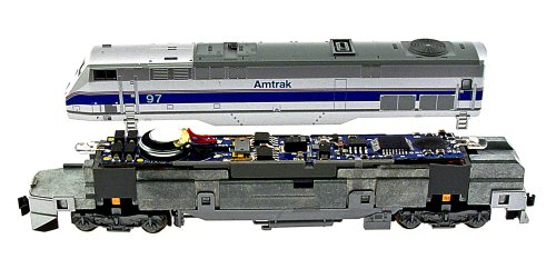 MRC N Gauge Dual Mode Drop-In Decoder: Kato P42, E8 and E9 (N Gauge Decoders)
