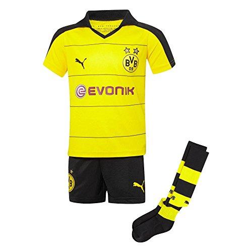 Puma BVB Borussia Dortmund Home Mini Kit Set (2T)