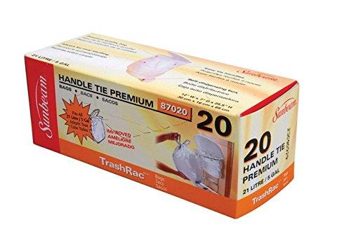 Sunbeam Trash Bag 5 Gal. 0.95mil 20 Bags / Box