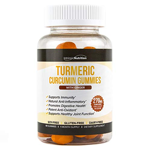 - Turmeric | Ginger Gummies | Curcumin | Immune Support | Anti Inflammatory | Digestive Health | Anti-Oxidant | Ginger Root | 60 Count