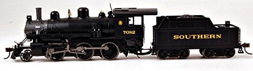 Bachmann Industries Alco 2-6-0 DCC Sound Value Equipped Locomotive - SOUTHERN #7082 - (1:87 HO Scale) (Whistle Scale Ho)