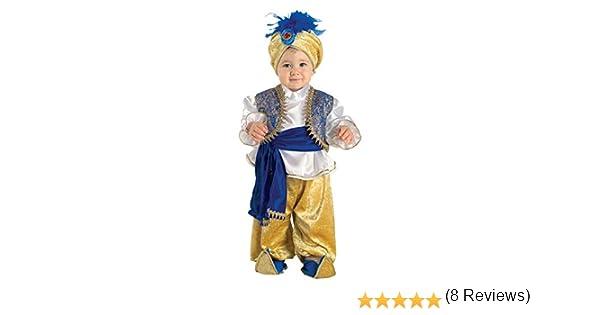 chiber Disfraces Disfraz de Aladin para Bebe (6-12 Meses): Amazon.es: Juguetes y juegos