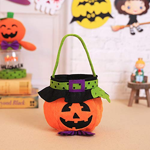 MOKO-PP Halloween Kids Doll Candy Sweet Jar Box Children Storage Cans Party House Decor(C) -