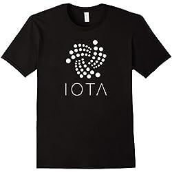 Mens IOTA Official Logo Crypto T-Shirt XL Black