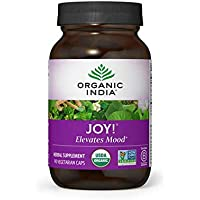Organic India Joy! - Ashwaganda Vitality and Stress Relief Formula (90 Veg Capsules)