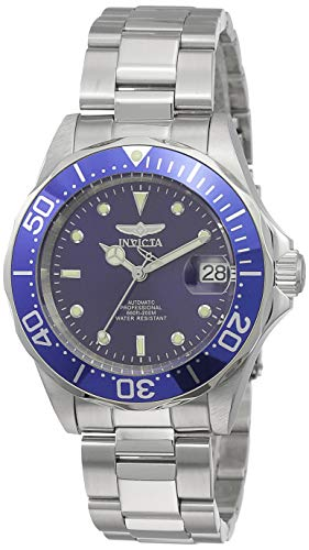 Invicta Men's 9094 Pro Diver Collection Stainless Steel Automatic Dress Watch with Link Bracelet (Men Watches Automatic Swiss Made)