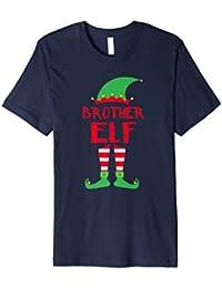 Brother Elf - T-Shirt Christmas Family Matching Pajamas Gift